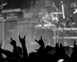 Rockin konsertti vauhdissa